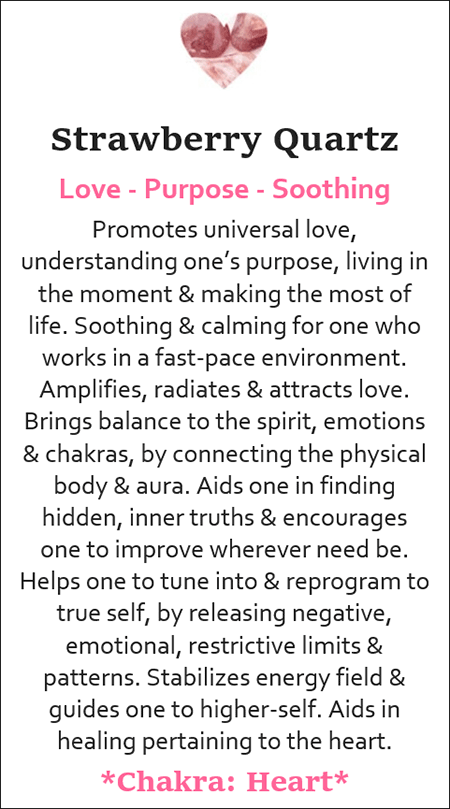Meaning Cards Soul Crystals Llc